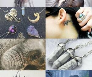 animals, asethetic, and elephants image