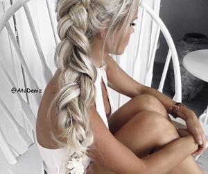 bangle, nails, and blonde image
