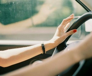 car, hand, and once upon a time image