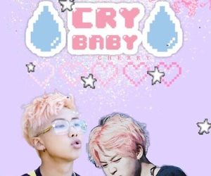 cry baby, edit, and pastel image