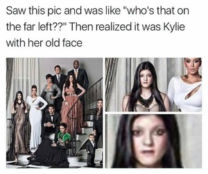 funny, kylie jenner, and keeping up with the kardashians image