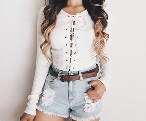 blogger, clothes, and beauty image