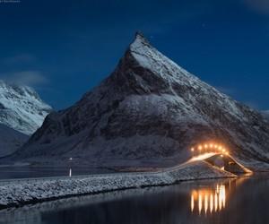 adventure, bridge, and evening image