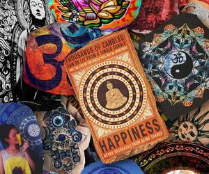 Buddha, Buddhist, and hippie image