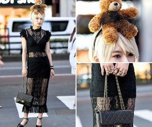 accessories, platform, and teddy bear image