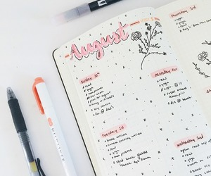aesthetics, inspiration, and bulletjournal image