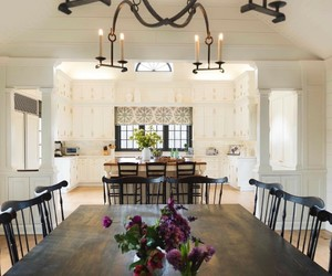 dining room, farmhouse, and home decor image