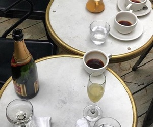 coffee, champagne, and drink image