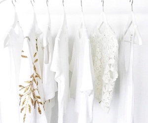 white, fashion, and clothes image