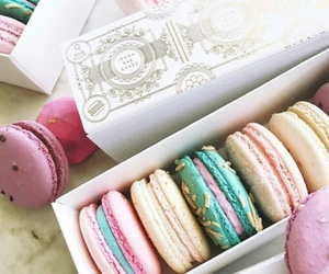 colours, pastel, and ‎macarons image