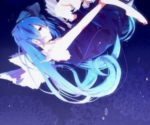 anime, hatsune miku, and miku image