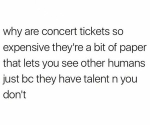 funny, relatable, and concert image