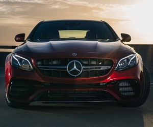 luxury, mercedes, and e class image