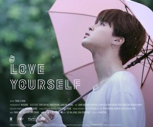 bts, jimin, and love yourself image