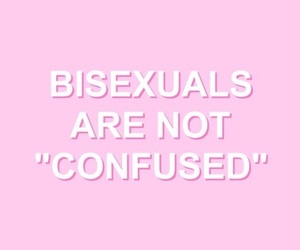 confused, bisexuals, and true image
