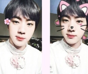 jin, pastel, and bts image