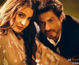 bollywood, shah rukh khan, and anushka sharma image