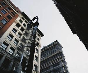 art, new york, and love image