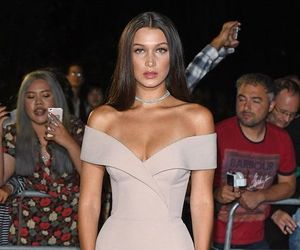 dress, bella hadid, and model image