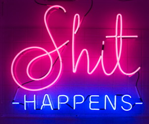 shit and neon image