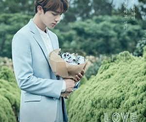 jin, 👑, and love+yourself image