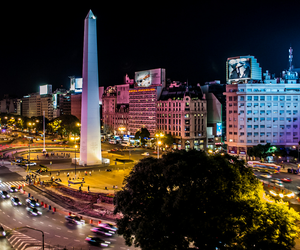 argentina, lights, and buenos aires image