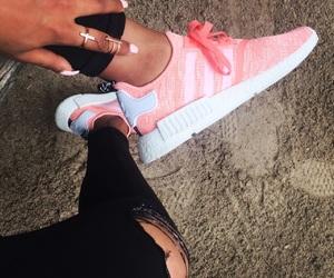 adidas, black, and coral image