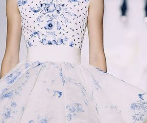 blue, Couture, and fashion image
