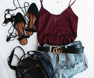 black, fashion, and summer image