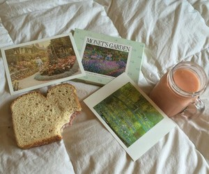 aesthetic, tumblr, and breakfast image