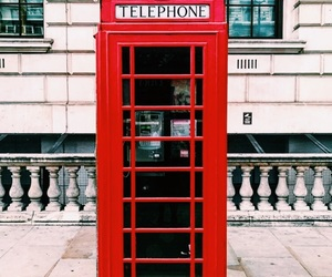 telephone, london, and travel image