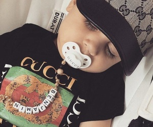 baby, gucci, and cute image