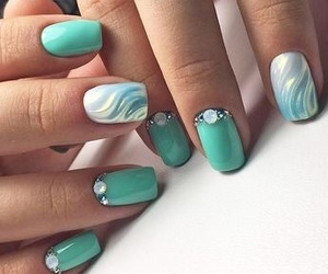 acryl, nails, and beautiful image