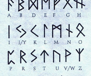 runes and alphabet image