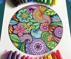 art, artist, and colors image