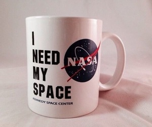 aesthetic, cup, and nasa image