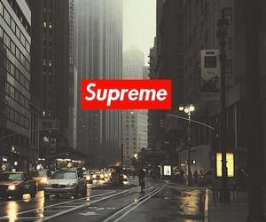 supreme and wallpaper image