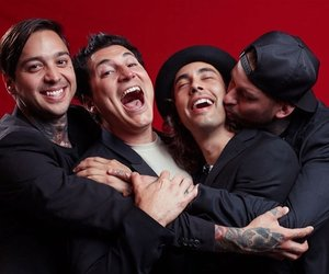 bands, mike fuentes, and pierce the veil image