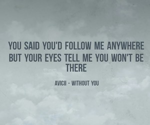 eyes, music, and quote image