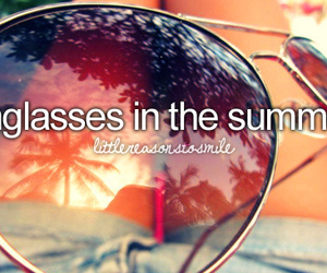 summer, sunglasses, and smile image