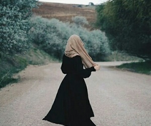freedom, girl, and hijab image