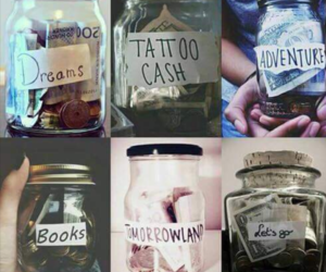 Dream, money, and book image