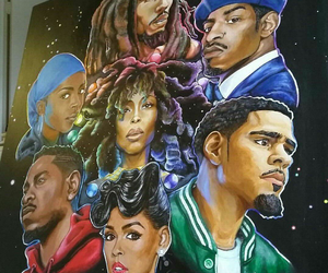 andre 3000, janelle monae, and j. cole image