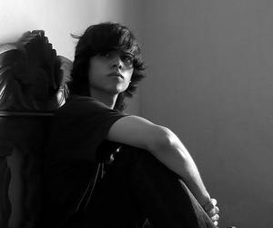 black and white, boy, and pretty image
