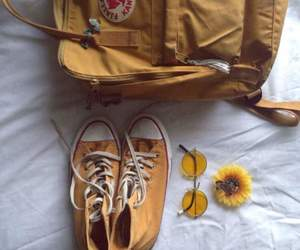 yellow, shoes, and converse image