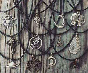 cool, girls, and necklaces image