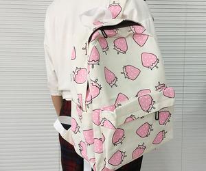 backpack, girl, and school image