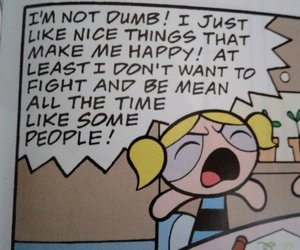powerpuff girls, bubbles, and quotes image