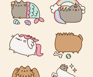 dog, pusheen, and griffin image