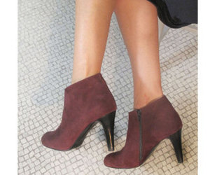 etsy, leather ankle boots, and women booties image